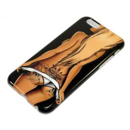 Чехол для Apple iPhone 6/6S (4,7) Fashion Case NEON SEXY глянец силикон в блистере 002