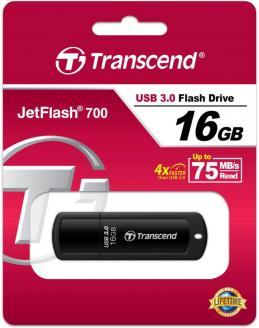 USB-флеш (USB 3.0) 16GB Transcend JetFlash 700